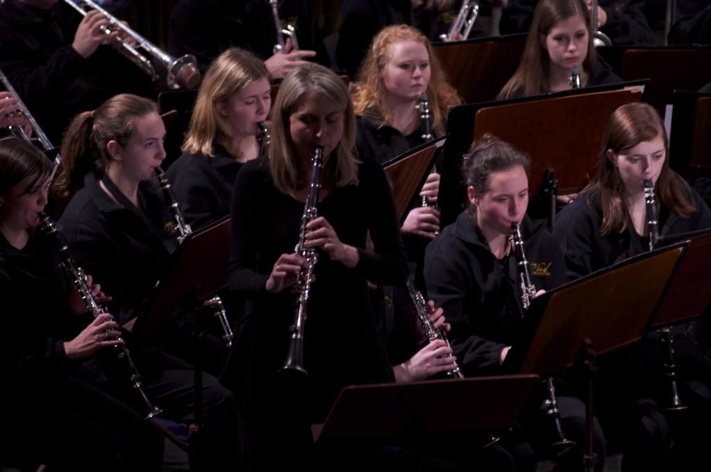 Clarinet Soloist Karrin Meffert-Nelson, St. Simon & Judah Concert, Prague