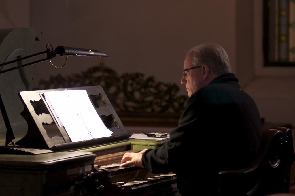 Organist David Fienen, St. Simon & Judah