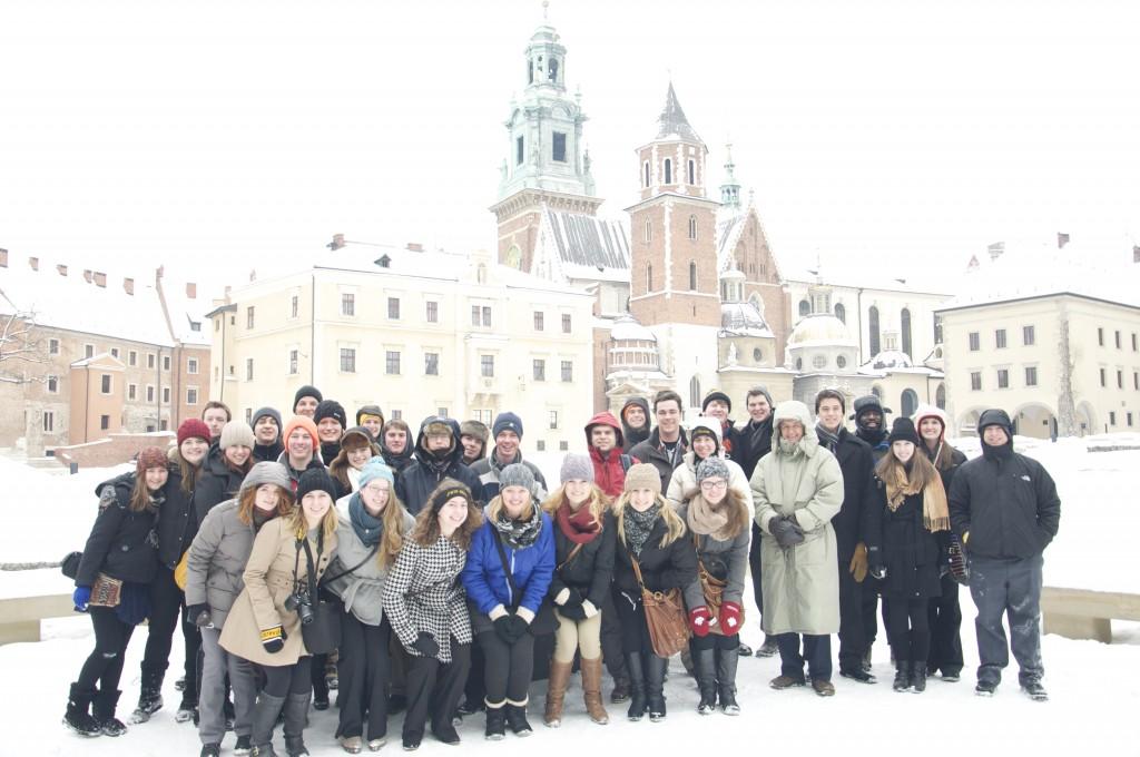 GWO at Wawel Castle, Prague