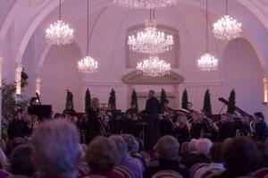 Gustavus Wind Orchestra at L'Orangerie, Schönbrunn Palace, Vienna