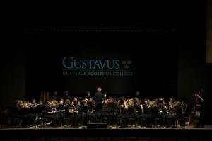 The Gustavus Wind Orchestra at Kongress Hall, Bad Ishl, Austria