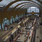 The Musée d'Orsay is a heavily-renovated train station, and features a stunning collection of Impressionist masters.