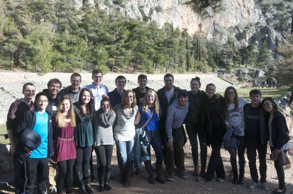 GSO/GJLB at the Oracle of Delphi Stadium, Greece